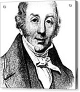 Abraham Colles, Irish Surgeon & Acrylic Print