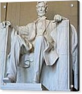 Abraham Lincoln Acrylic Print by