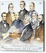 Abraham Lincolns Cabinet Acrylic Print