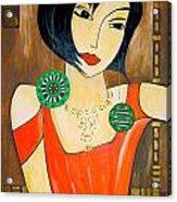 Women 447 - Marucii Acrylic Print