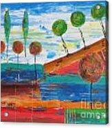 Abs 0455 Acrylic Print