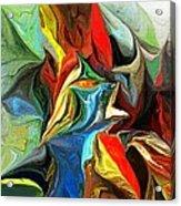 Abstract 021712 Acrylic Print