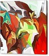 Abstract 090112 Acrylic Print