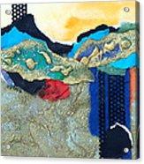 Abstract 2011 No.2  Acrylic Print by Kathy Braud