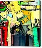 Abstract 733 Acrylic Print