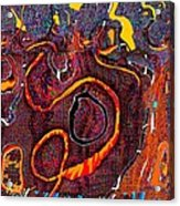 Abstract 734 Acrylic Print