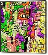 Abstract 765 Acrylic Print