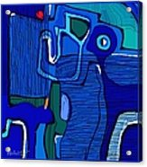 Abstract 791 Acrylic Print