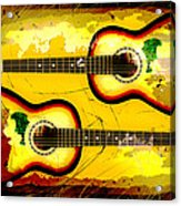 Abstract Acoustic Acrylic Print