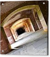 Abstract Archways Fort Point Acrylic Print