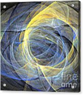 Abstract Art - Delightful Mood Of Abstracted Mind Acrylic Print