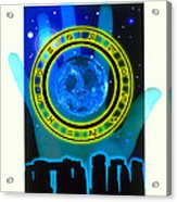 Abstract Artwork Of Fortune Telling Acrylic Print by Victor Habbick Visions