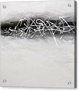 Abstract Black Acrylic Print