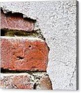 Abstract Brick Wall II Acrylic Print