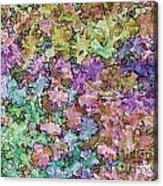Abstract Colors Pale Acrylic Print