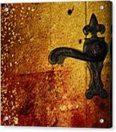 Abstract Door Acrylic Print