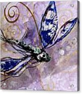 Abstract Dragonfly 9 Acrylic Print