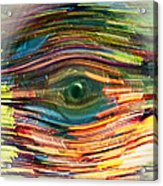 Abstract Eye Acrylic Print