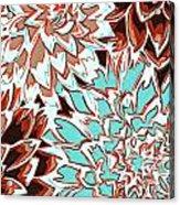 Abstract Flower 17 Acrylic Print