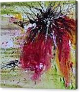 Abstract  Flower Acrylic Print