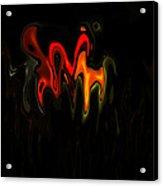 Abstract Fractals Melting 2 Acrylic Print