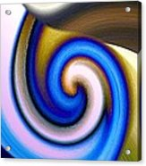 Abstract Fusion 114 Acrylic Print by Will Borden