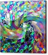 Abstract Fusion 15 Acrylic Print