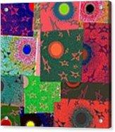 Abstract Fusion 79 Acrylic Print