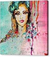 Abstract Acrylic Print by Genesis Garcia