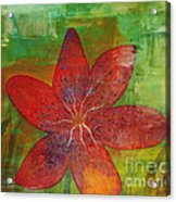 Abstract Lilly  Acrylic Print