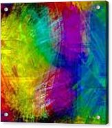 Abstract Multi Colors Acrylic Print