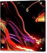Abstract Neon Lights Acrylic Print