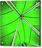 Abstract Of Green Acrylic Print