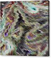 Abstract Pastel Art Acrylic Print