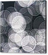 Abstract Photo Of Light Reflecting Acrylic Print