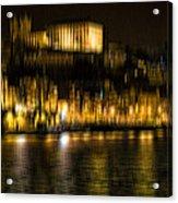 abstract Portuguese city Porto-10 Acrylic Print