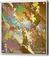 Abstract Puzzle Acrylic Print