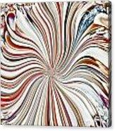 Abstract Seashells Acrylic Print