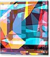 Abstract Sin 28 Acrylic Print