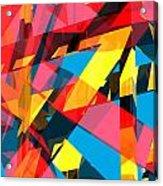 Abstract Sine P 13 Acrylic Print