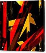 Abstract Sine P 2 Acrylic Print