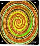 Abstract Spiral Acrylic Print