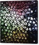 Abstract Straws Acrylic Print