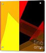 Abstract Tan 10 Acrylic Print
