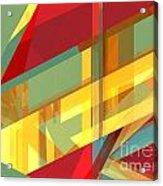 Abstract Tan 9 Acrylic Print