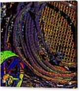 Abstract Textures Acrylic Print
