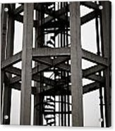Abstract Water Tower Acrylic Print