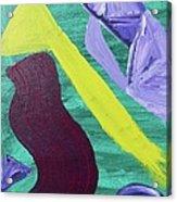 Abstract Woman Acrylic Print