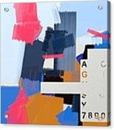 Abstract151 Acrylic Print
