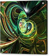 Abstracted Love Fx  Acrylic Print